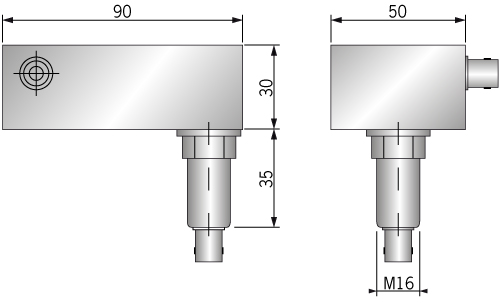 Technical drawing Ultra high performace power line filter